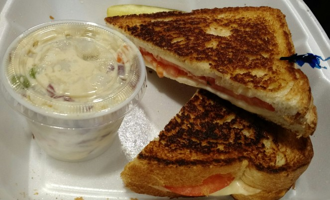 Grilled Cheese with Tomato at A Better Bite Deli