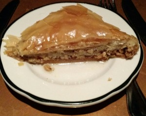 Baklava at Tara Kitchen
