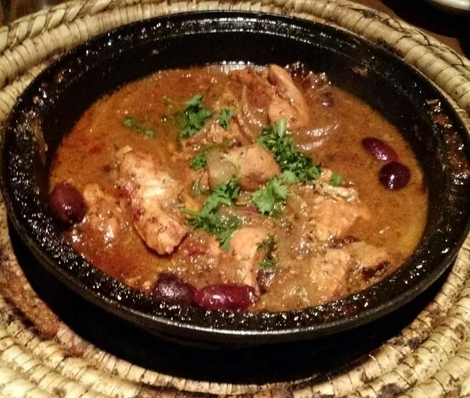 Chicken with Pomegranate Molasses at Tara Kitchen