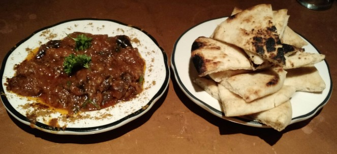 Eggplant Dip Appetizer at Tara Kitchen