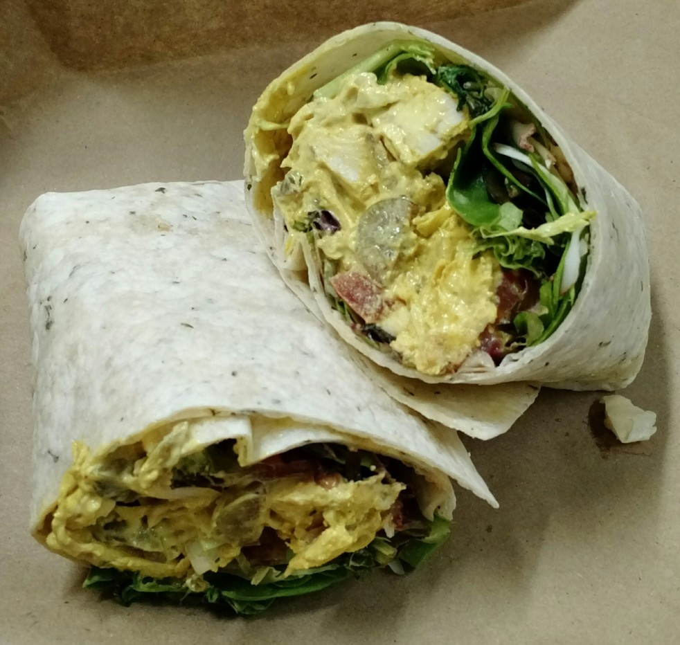 Curried Chicken Salad Wrap at Dali Mamma