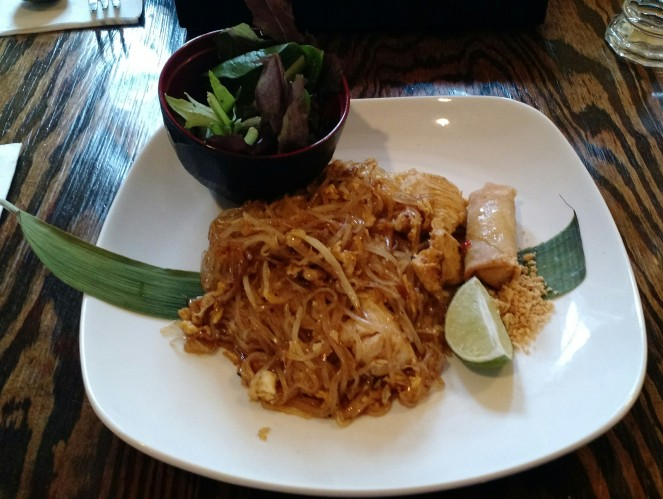 Pad Thai with Chicken at TapAsia