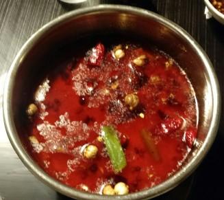 Spicy Broth Hot Pot at 99 Favor Taste