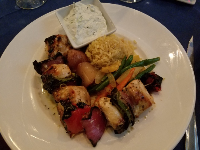 Chicken Souvlaki at Athos