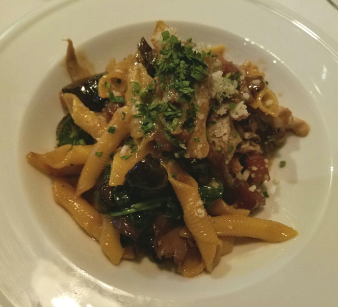 Rabbit Ragu at Mezza Notte
