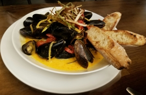 Prince Edward Mussels at Rascals