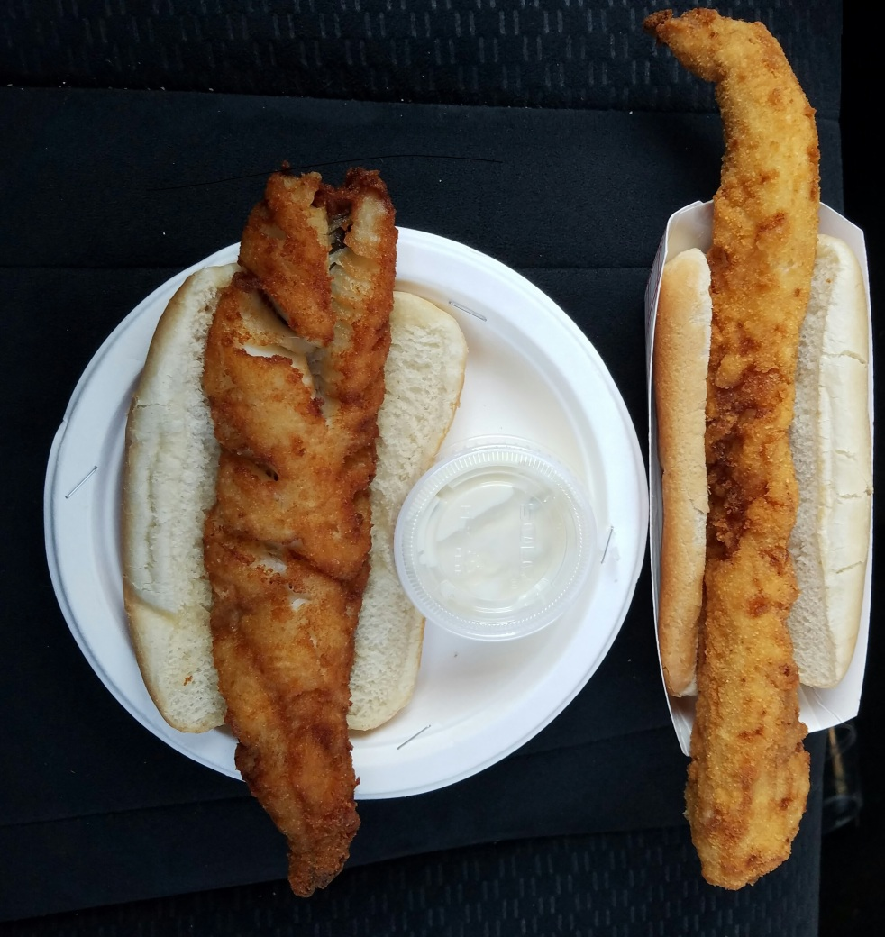 Fish Fry from Gene's and Off-Shore Pier