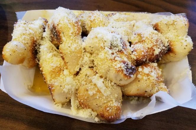 Garlic Knots at Prima Pizza