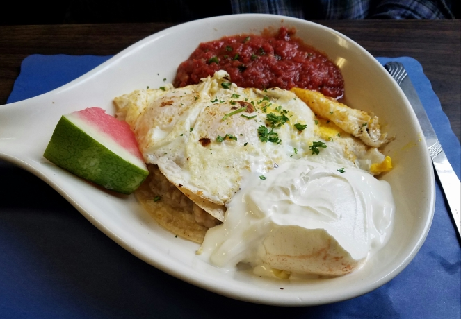 Huevos Rancheros at Jake Moon