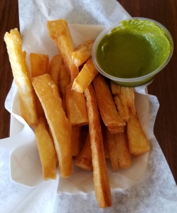 Yucca Fries at Oh Corn! Arepas and More