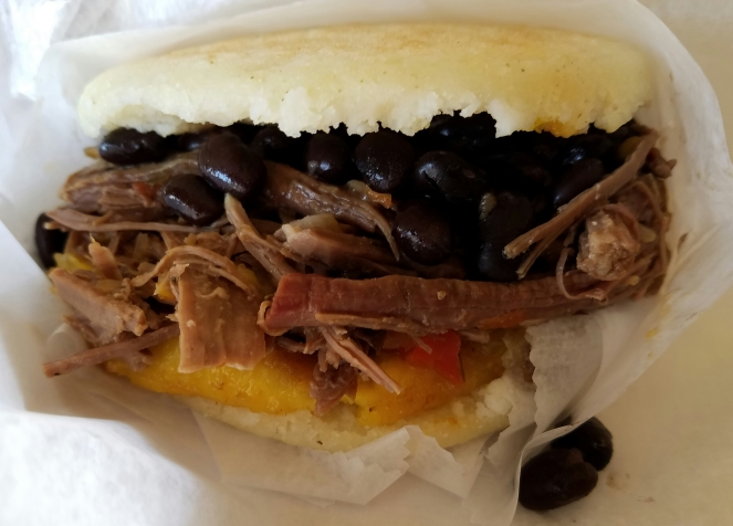 The Pabellon at Oh Corn! Arepas and More