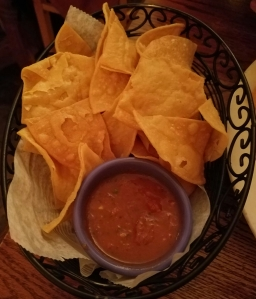 Chips and Salsa at Destino