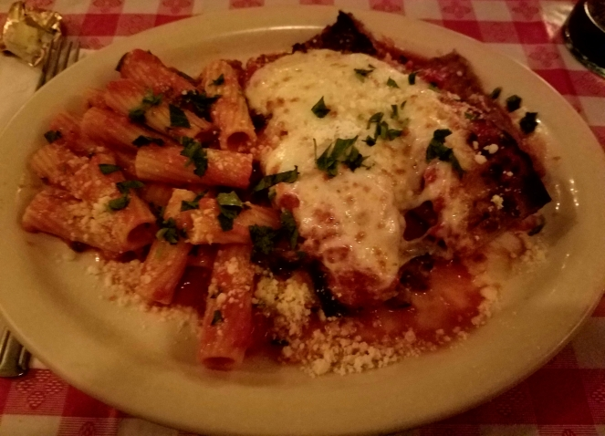 Eggplant Parm at Donna's