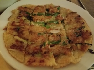 Scallion Pancake at Sunhee's Farm and Kitchen