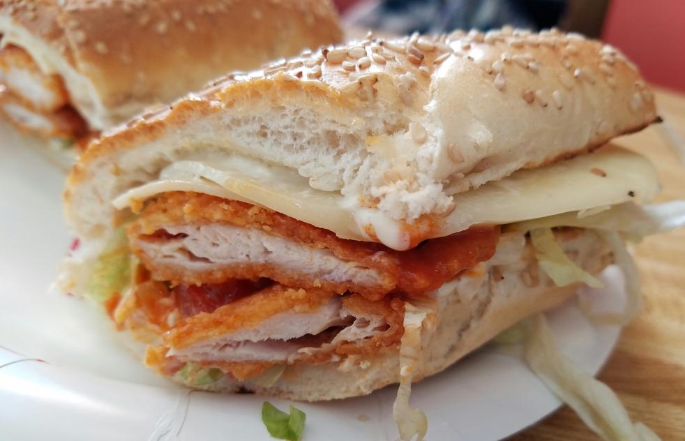 Chicken Finger Sub at John's Pizza & Subs