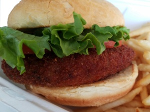 Crab Cake Sandwich from Old Chatham Country Store & Cafe