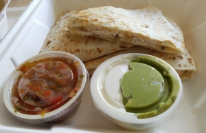 Chicken Quesadilla at Old Chatham Country Store & Cafe