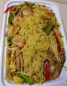 Mai Fun Singapore Noodles at Timmy's Chinese