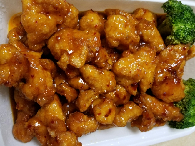 General Tso's Chicken from Timmy's Chinese