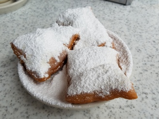 Beignets from Cafe du Monde