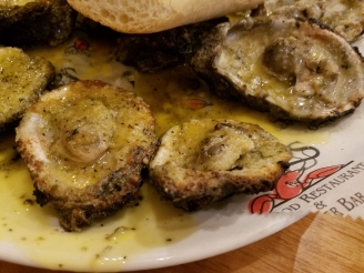 Classic Grilled Oysters at Drago's