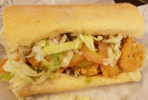 Shrimp Po-Boy from Parkway Bakery & Tavern