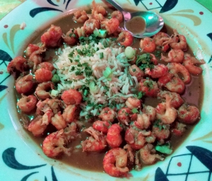 Crawfish Etoufee at Jacques-Imo's