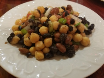 Three Bean Salad at My Dacha