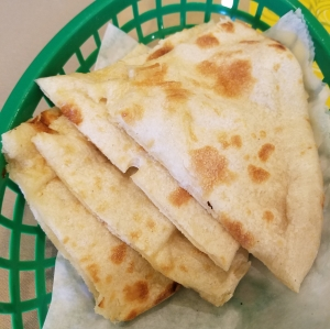Naan at Minar Indian Cuisine