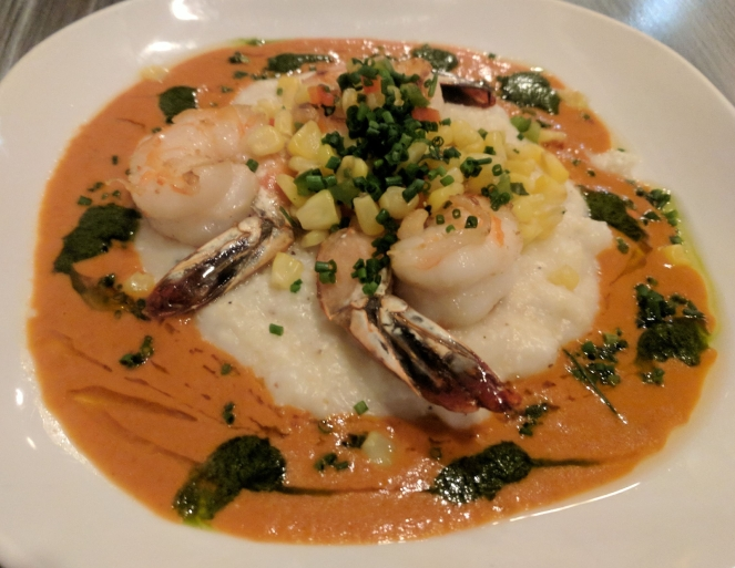 Shrimp and Grits at The Cuckoo's Nest
