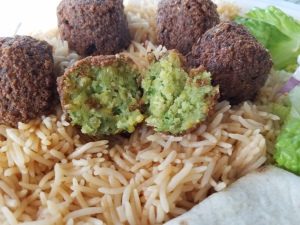 Falafel at Zaitoon Kitchen