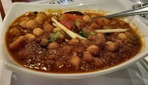 Chana Masala at Karavalli