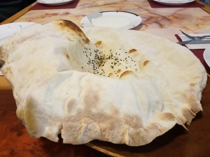 Lavash Bread at Ali Baba