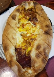 Meat Pide at Ali Baba