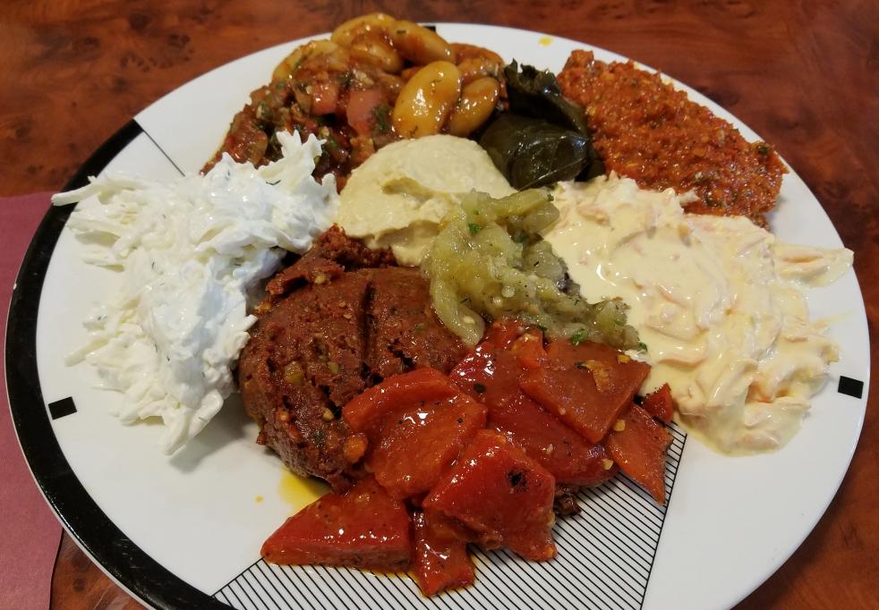 Mixed Salad Appetizer at Ali Baba